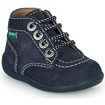 Schuhe Kinder Boots Kickers BONZIP-3 Marine