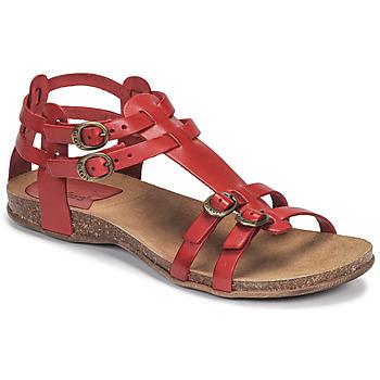 Schuhe Damen Sandalen / Sandaletten Kickers ANA Rot
