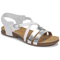 Schuhe Damen Sandalen / Sandaletten Kickers ANATOMIUM Weiss / Silbern