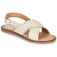 Schuhe Damen Sandalen / Sandaletten Kickers KICLA Beige
