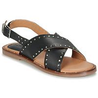 Schuhe Damen Sandalen / Sandaletten Kickers KICLA Schwarz