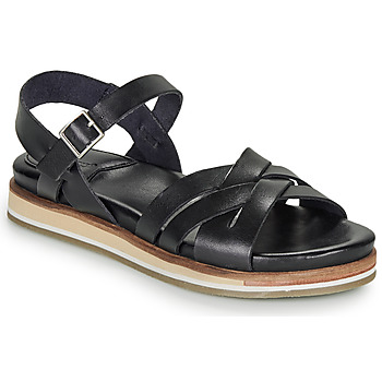 Schuhe Damen Sandalen / Sandaletten Kickers OLIMPIK Schwarz