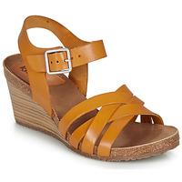 Schuhe Damen Sandalen / Sandaletten Kickers SOLYNA Camel