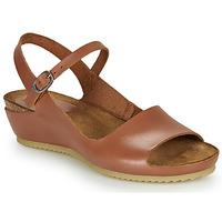 Schuhe Damen Sandalen / Sandaletten Kickers TAKIKA Braun