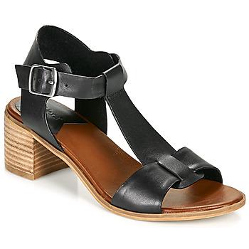 Schuhe Damen Sandalen / Sandaletten Kickers VALMONS Schwarz