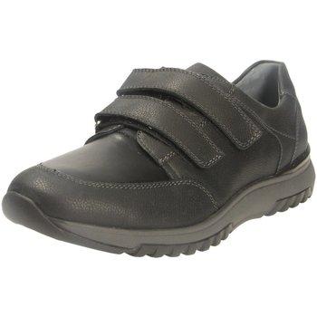 Schuhe Herren Derby-Schuhe Waldläufer Slipper UOMO CAVELSTRETCH H.Halbschuh 632301203/001 schwarz