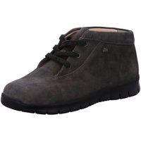 Schuhe Damen Boots Finn Comfort Stiefeletten 02854-331298 grau