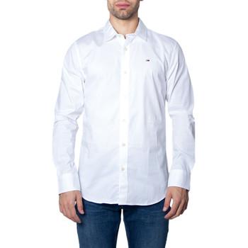 Kleidung Herren Langärmelige Hemden Tommy Hilfiger DM0DM04405 Bianco