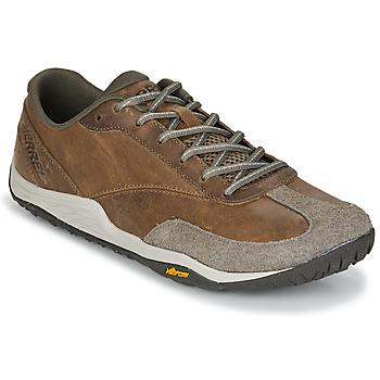 Schuhe Herren Multisportschuhe Merrell TRAIL GLOVE 5 LTR Braun