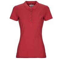 Kleidung Damen Polohemden Tommy Hilfiger NEW CHIARA Rot