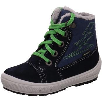 Schuhe Jungen Schneestiefel Superfit Winterboots GROOVY - GORE-TEX® Insulated C 5-09306-80 80 blau