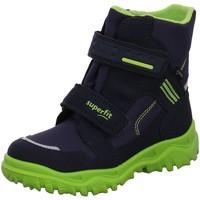 Schuhe Jungen Schneestiefel Superfit Winterboots 9044-81 blau