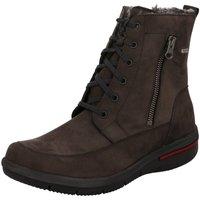 Schuhe Damen Schneestiefel Waldläufer Stiefeletten 395972 395972-191/052 braun