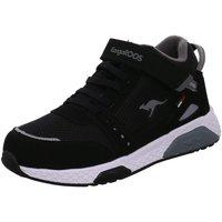 Schuhe Jungen Sneaker High Kangaroos Low 18391 5003 schwarz