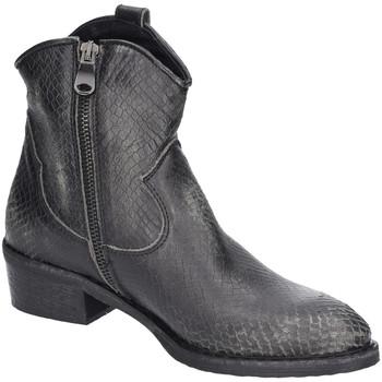 Schuhe Damen Boots Metisse Stiefeletten Asport Vintage Asfalto CP9-CP schwarz