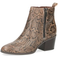 Schuhe Damen Low Boots Caprice Stiefeletten Da.-Stiefel 9-9-25363-23-349 braun