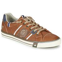 Schuhe Herren Sneaker Low Mustang 4072308-307 Cognac