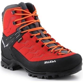 Schuhe Herren Wanderschuhe Salewa MS Rapace Gtx Schwarz,Rot