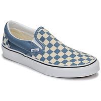 Schuhe Slip on Vans CLASSIC SLIP-ON Blau / Weiss