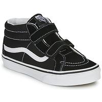 Schuhe Kinder Sneaker High Vans JN SK8-Mid Reissue V Schwarz / Weiss