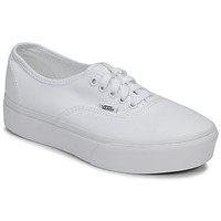 Schuhe Damen Sneaker Low Vans AUTHENTIC PLATFORM 2.0 Weiss