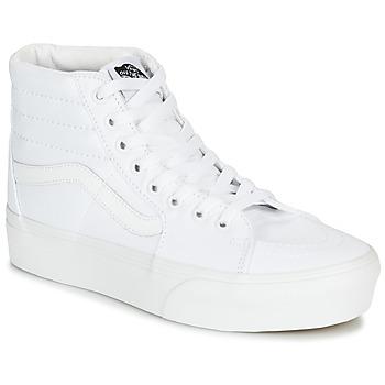 Schuhe Damen Sneaker High Vans SK8-HI PLATFORM 2.0 Weiss