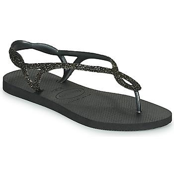 Schuhe Damen Zehensandalen Havaianas LUNA PREMIUM Schwarz