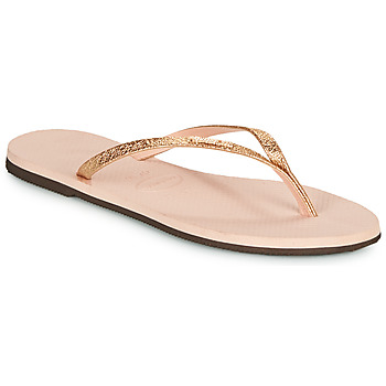 Schuhe Damen Zehensandalen Havaianas YOU SHINE Rose