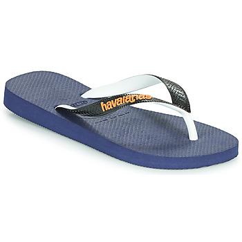 Schuhe Zehensandalen Havaianas TOP MIX Marine / Schwarz