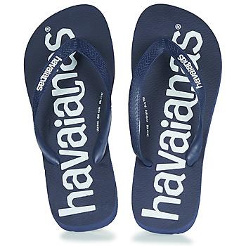 Schuhe Zehensandalen Havaianas TOP LOGOMANIA Navy / Blau