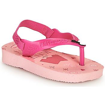 Schuhe Mädchen Zehensandalen Havaianas BABY DISNEY CLASSICS II Rose