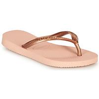 Schuhe Mädchen Zehensandalen Havaianas SLIM Rose