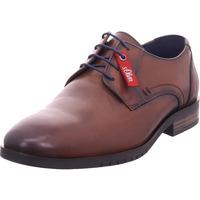 Schuhe Herren Derby-Schuhe & Richelieu S.Oliver Herren Schnürer COGNAC