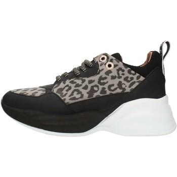 Schuhe Damen Sneaker Low Alexander Smith S73696 Grau und schwarz