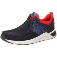 Schuhe Damen Slipper Sioux Schnuerschuhe Grash.-D192-60 64680 blau