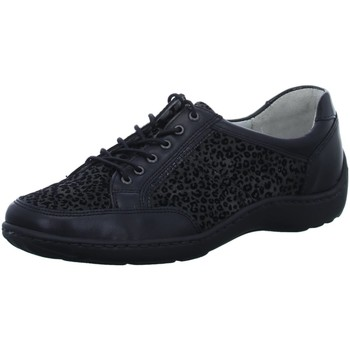 Schuhe Damen Derby-Schuhe & Richelieu Waldläufer Schnuerschuhe 496013-301-991 schwarz