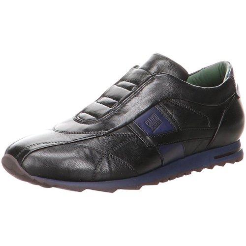 Schuhe Herren Slip on Galizio Torresi Slipper nero-Blue 313998 schwarz