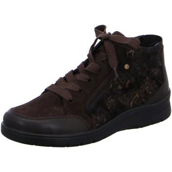 Schuhe Damen Low Boots Ara Stiefeletten MERAN 41048-75 braun