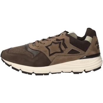 Schuhe Herren Sneaker Low Atlantic Stars POLARIS-DCC-F11 BROWN