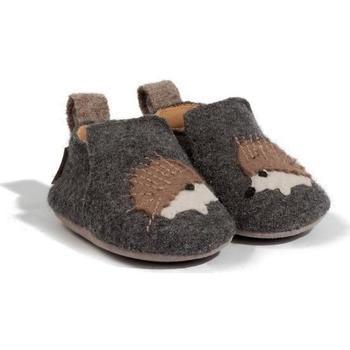 Schuhe Kinder Hausschuhe Haflinger 65308004 Grigio