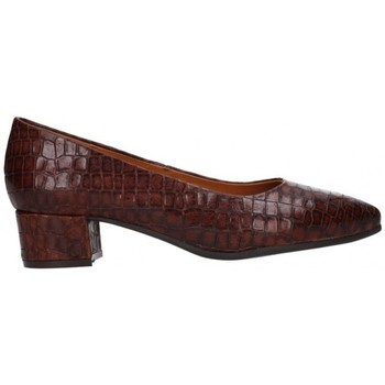 Schuhe Damen Pumps Moda Bella 11-932 ANACONDA marron Mujer Marron marron