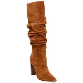 Schuhe Damen Klassische Stiefel Steve Madden SMSSWAGGER-COG braun