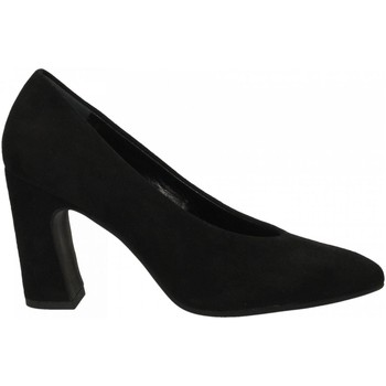 Schuhe Damen Pumps Malù CAMOSCIO nero