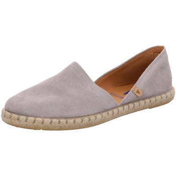 Schuhe Damen Leinen-Pantoletten mit gefloch Verbenas Slipper 030058-0001-0727 grau