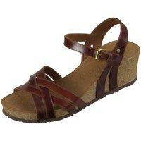 Schuhe Damen Sandalen / Sandaletten Panama Jack Sandaletten VERA C LAY B1 braun