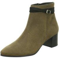 Schuhe Damen Low Boots Paul Green Stiefeletten 9592 9592-045 beige