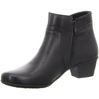 Schuhe Damen Low Boots Diverse Stiefeletten -Stiefelette,black 1034037 schwarz