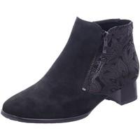 Schuhe Damen Low Boots Ara Stiefeletten 12-11837-75 schwarz