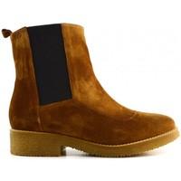 Schuhe Damen Low Boots Gadea 41641 Marron