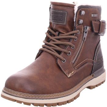 Schuhe Herren Stiefel Pep Step - 7912304 braun